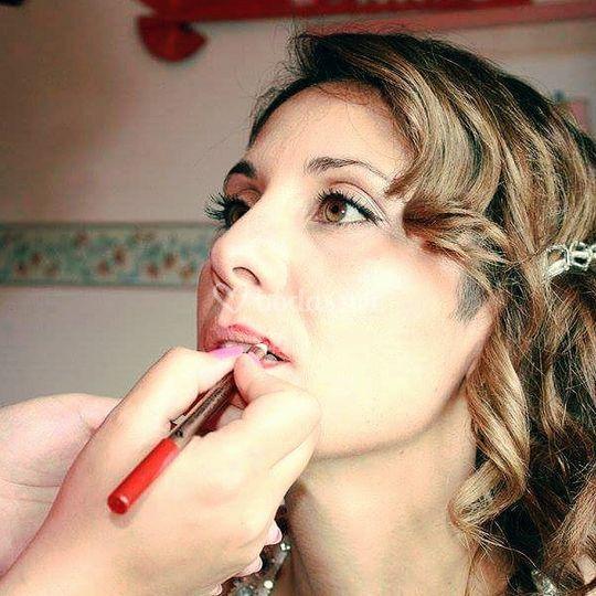 Maquillaje para novia de Clara Make Up