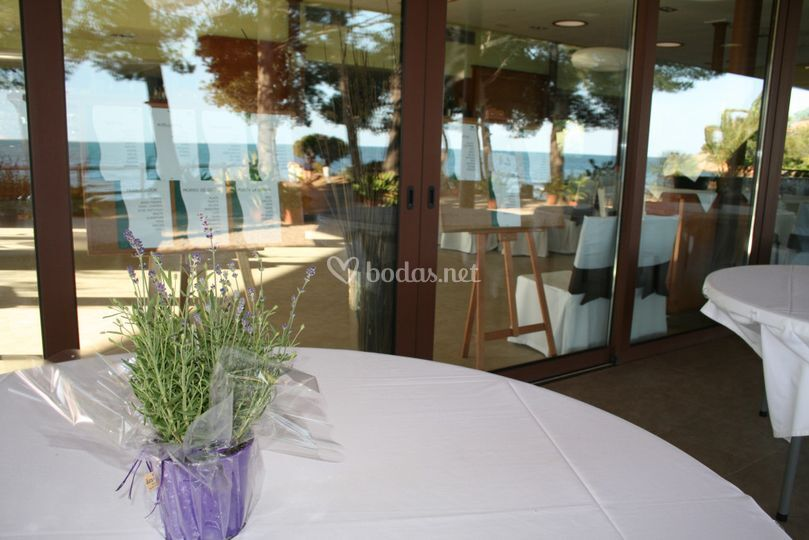 Mesas banquete exterior