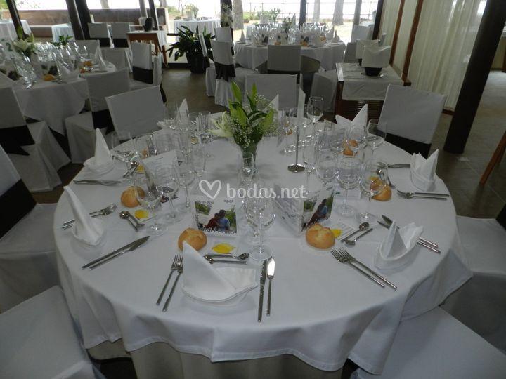 Organización mesas boda