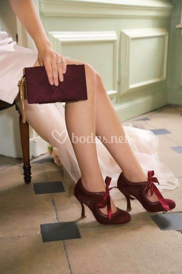 Zapatos Bianca rojos