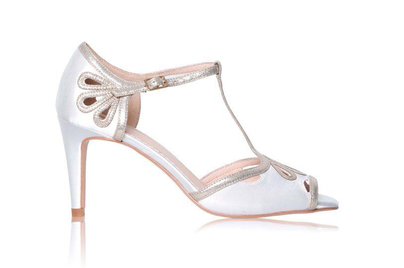 Zapatos Esme ivory