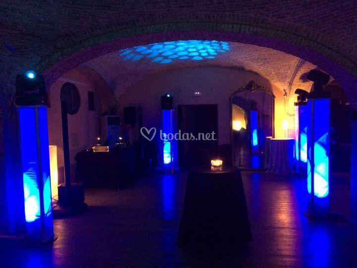 Iluminación y montaje evento