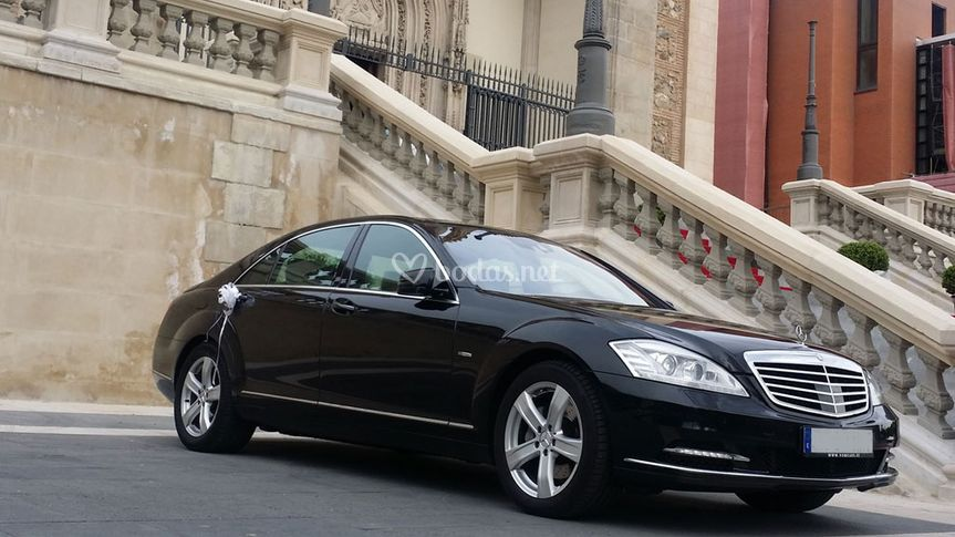 Coche nupcial Mercedes clase S