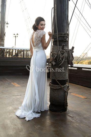 vestido de novia jordi anguera de jordi anguera novias | foto 159