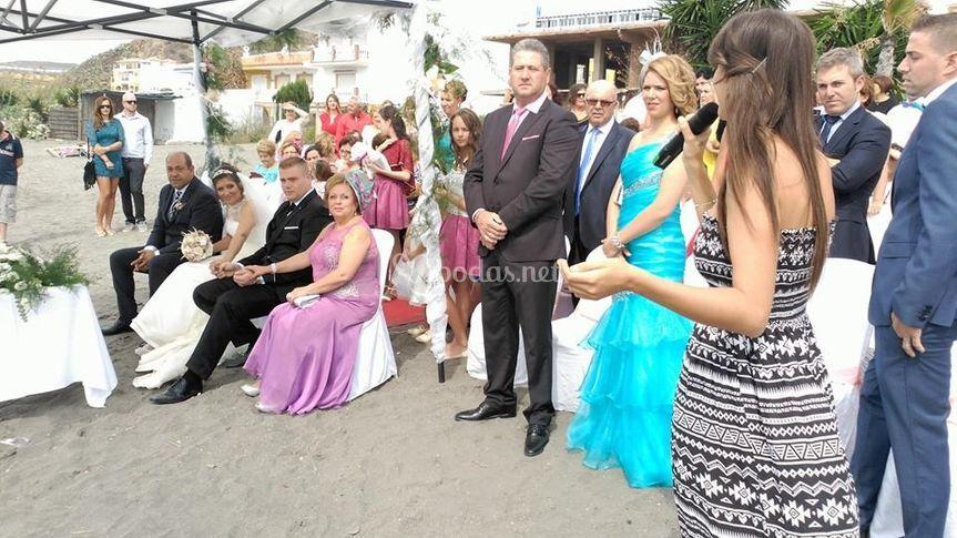 Ceremonia civil playa Torrox