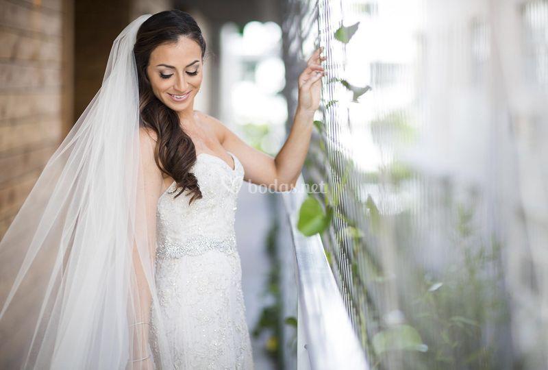 Posado de la novia