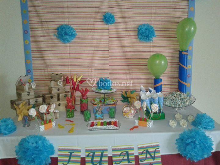 Candy bar para cumpleaños