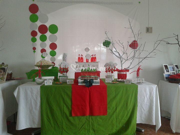 Mesa dulce para eventos