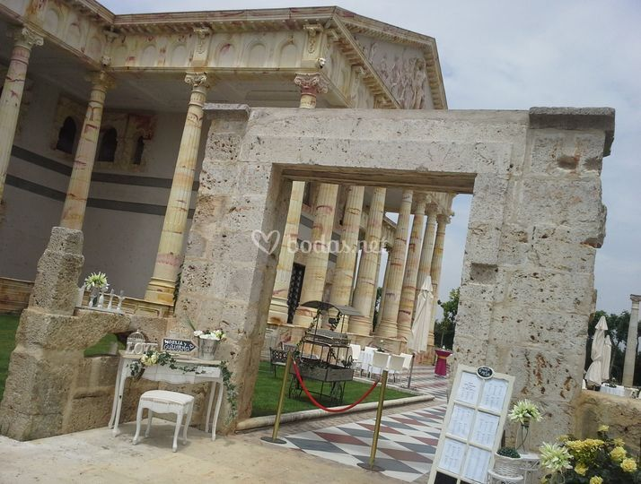 Entrada Cocktail Partenón