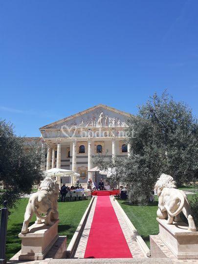 Ceremonia en el Partenón