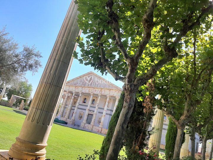 Verdes en el Partenón