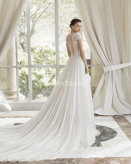 Clará Couture Collection 2019 - 31259 Melisa de Rosa Clará a052ca38bd7