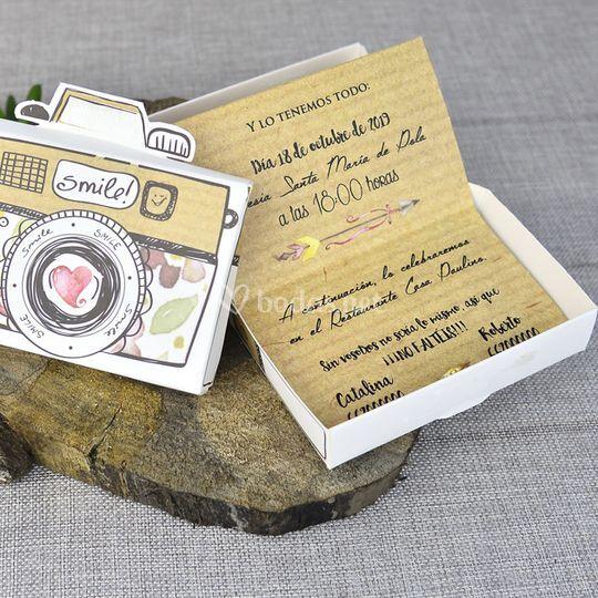 Invitación cámara