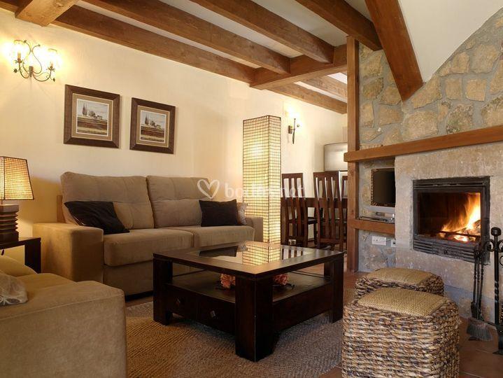 Interiores de las casas