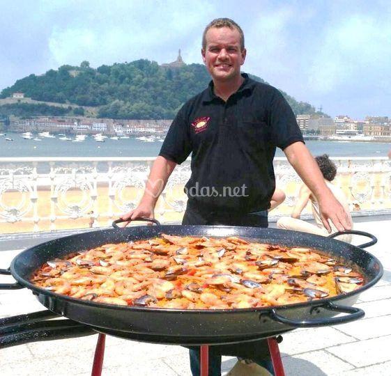 Arraun Euskadi - Paellas en vivo