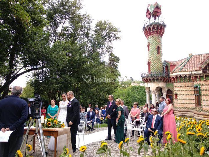 Ceremonia Capricho Gaudí