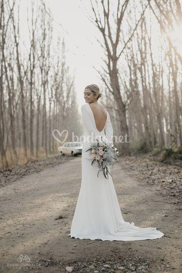 La novia radiante