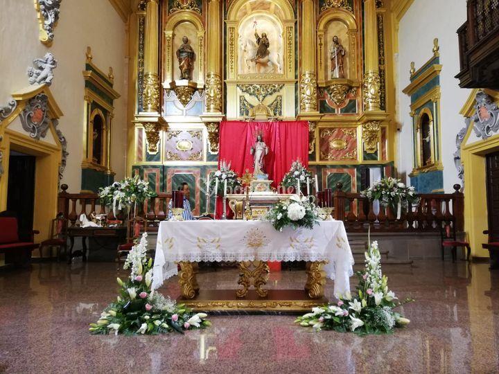 Arreglo de iglesia clásico