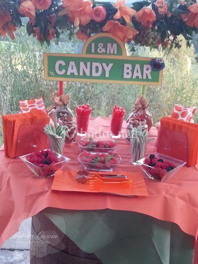 Candy Bar d de la boda de I&M