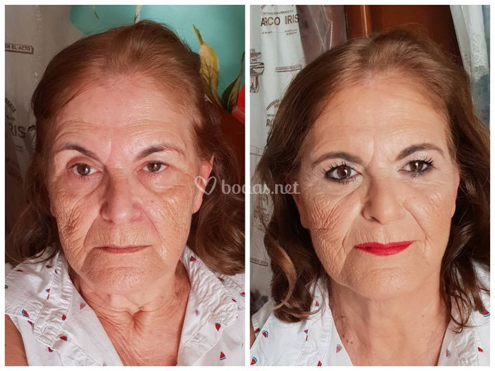 Make up efecto lifting