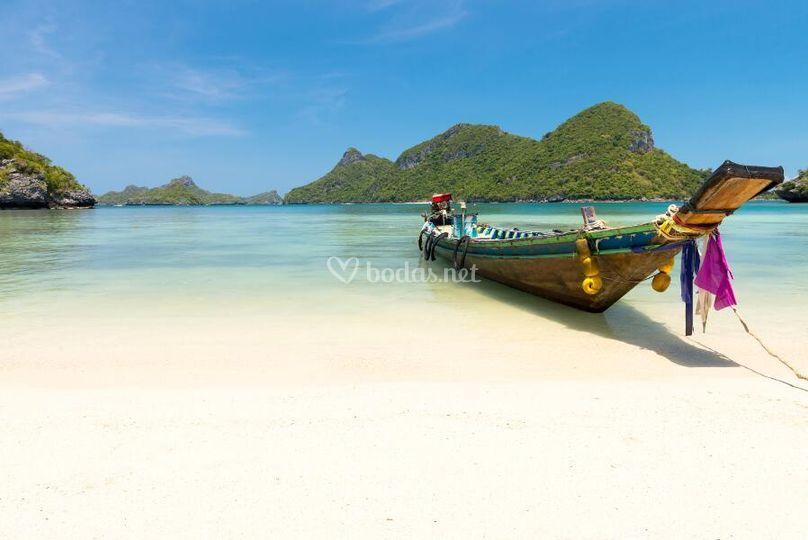 Tailandia, islas y playas.