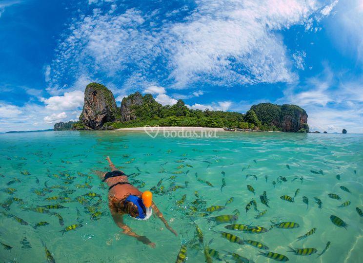 Tailandia al completo y playas