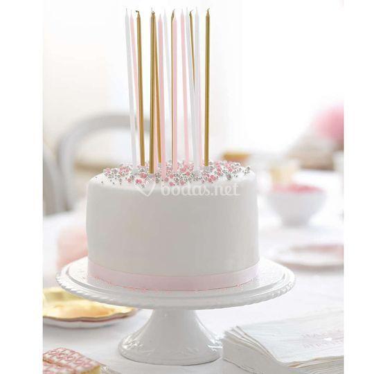 Elaishop deco - velas tartas.