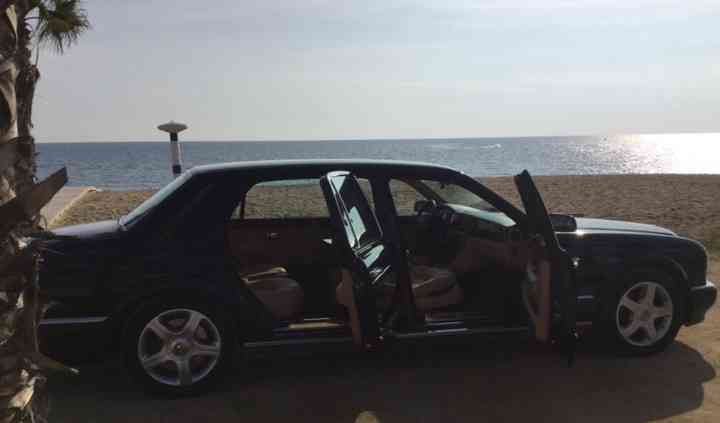 Alquiler de un Bentley para un evento especial