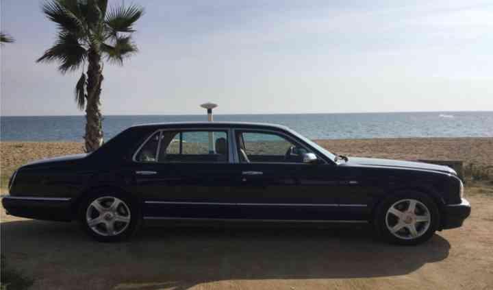 Un coche Bentley para vuestra boda