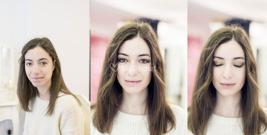 Maquillaje de tarde