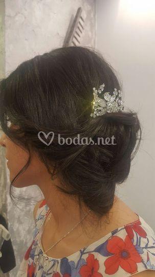 Recogido novia Cristina Diaz