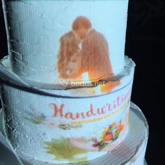CakeMapping Boda Shabby Chic