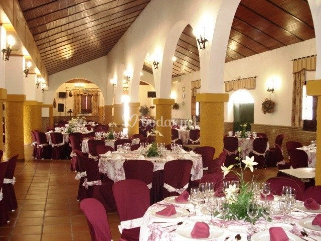 Salón para eventos de Catering Salvador Arias