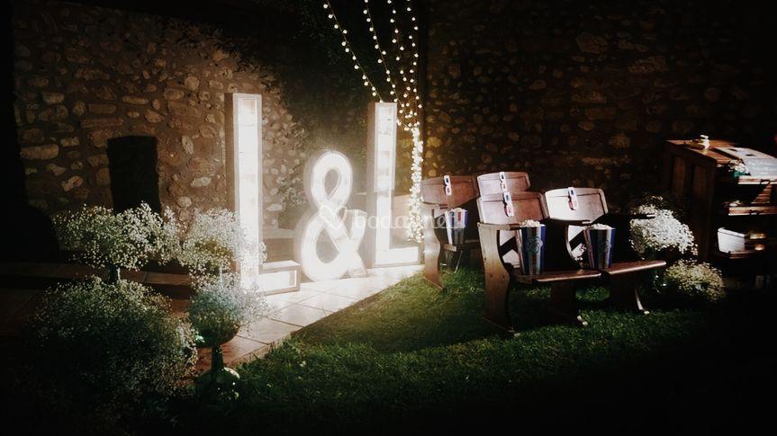Letras luminosas - Alquiler