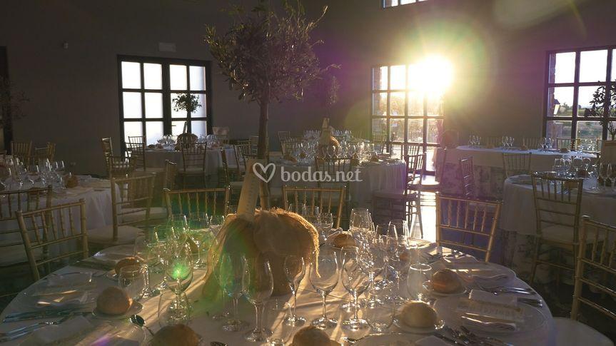 El banquete espera