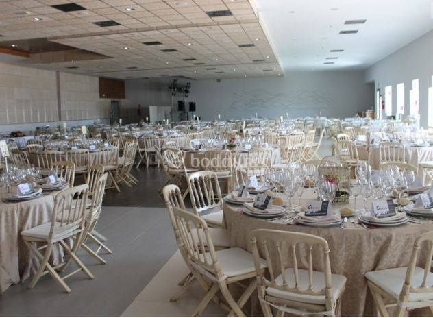 Salón interior para una boda