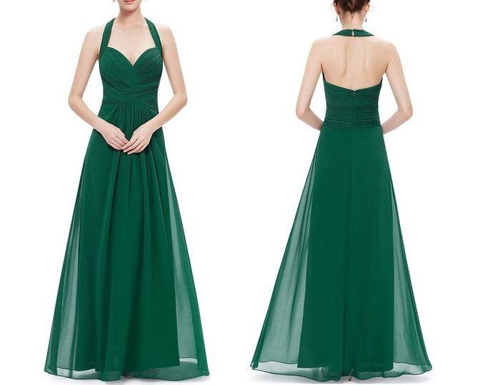 Vestidos ceremonia verdes