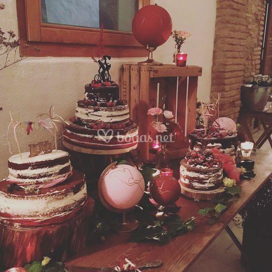 World wedding table