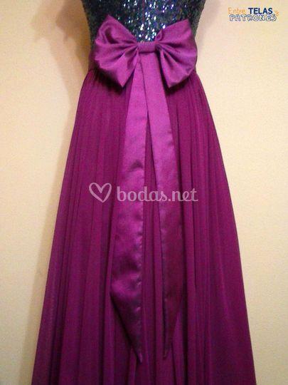 Lazo para vestido de fiesta