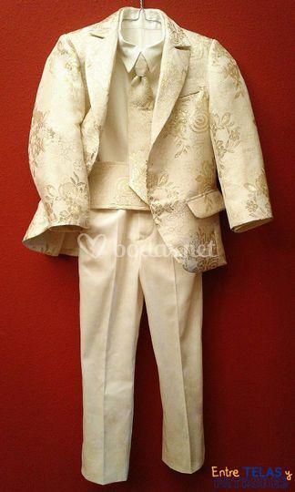 Confección de traje para niño