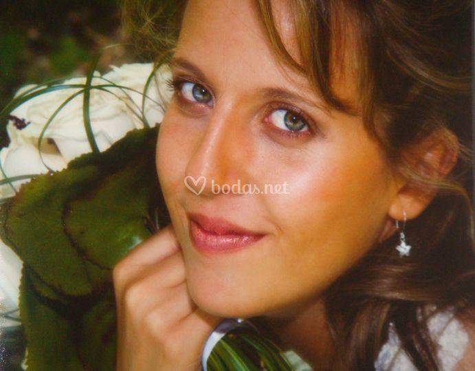 Maquillaje de novia de Sara Villegas