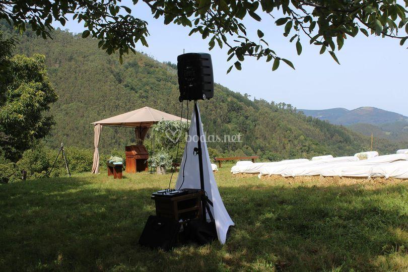 Música en ceremonia