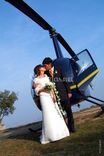 Forma parte de la boda