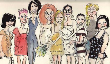 Valentino Menghi Retratista y Caricaturista