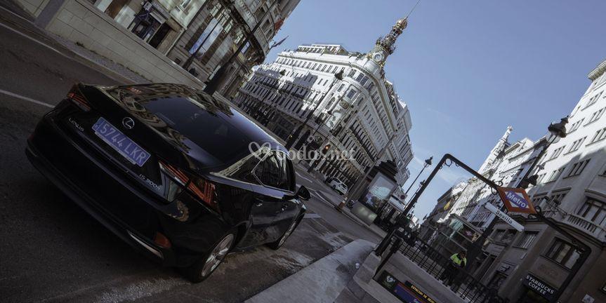Parte trasera del Lexus IS300h