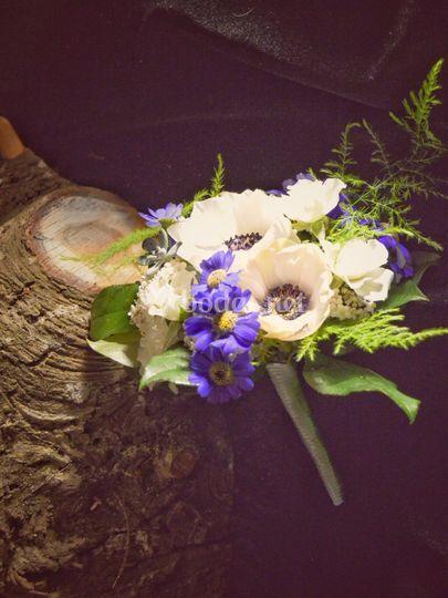 Pequeño ramo de novia invernal