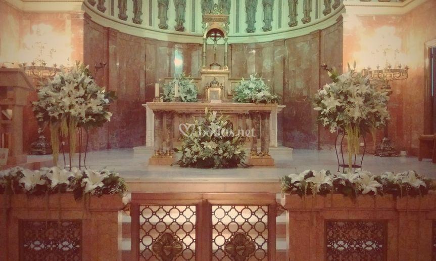 Decoracion Iglesia Esclavas