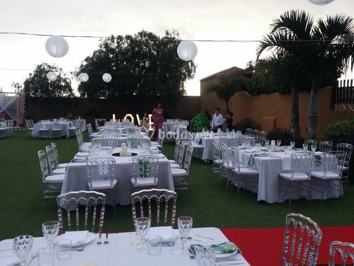 Montaje de grandes bodas