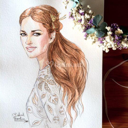 Retrato de la novia