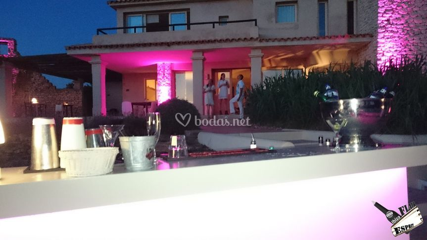 Catering bar service in Ibiza